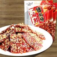 【悦果汇】蜀道香麻辣蜜汁猪肉脯小包装100g四川特产零食猪肉干零食好吃小吃