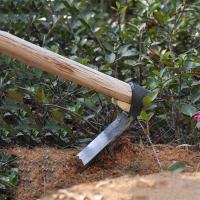 锄头 农具锻打种菜 木柄条锄 种花种菜锄头 园林园艺工具挖笋犁地